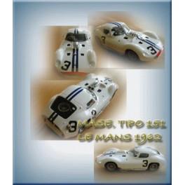 Mase. Tipo 151 Le Mans 1962